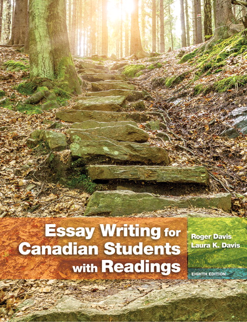 table of contents essay writing for canadian students e  essay writing for canadian students 8 e cover