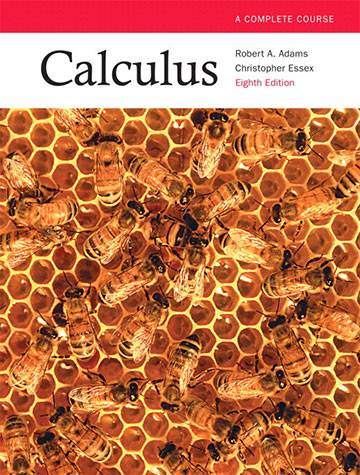 Calculus: A Complete Course, 8th Edition [cover]
